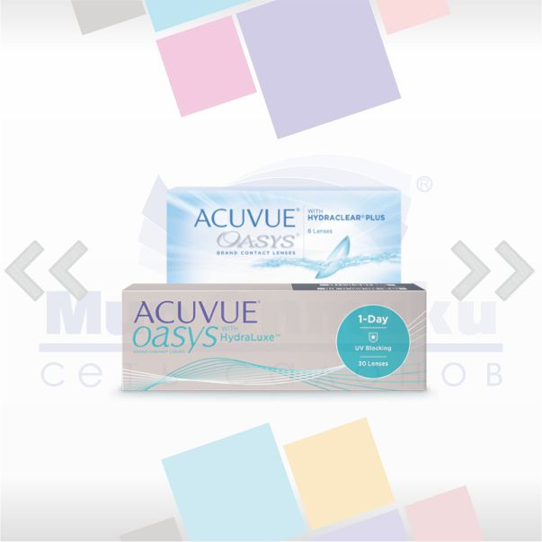 Акция для покупателей линз 1-DAY ACUVUE OASYS with Hydraluxe